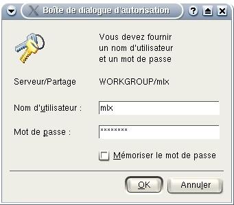 Accès à un serveur SAMBA à partir d'un client Linux